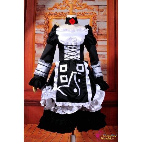 touhou project yakumo ran lolita cosplay kostume anime manga