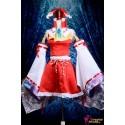 Touhou Projekt Hakurei Reimu Lolita Cosplay Kostüme Anime Manga