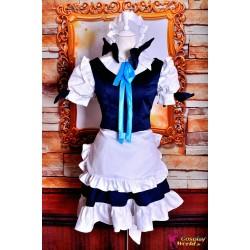 touhou project izayoi sakuya maid dienstmadchen cosplay kostume anime manga