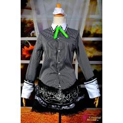 touhou projekt izayoi sakuya cosplay kostume anime manga