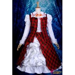 touhou projekt kazami yuuka lolita cosplay kostume anime manga