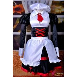 anime manga umineko no naku koro ni shannon sayo cosplay maid costume anime manga