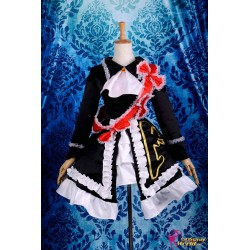 umineko no naku koro ni ushiromiya maria lolita cosplay costume