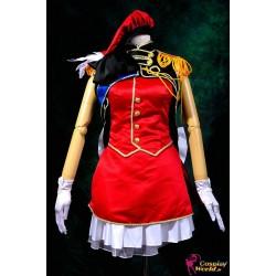 macross frontier sheryl nome cosplay kostume rotes kleid anime manga