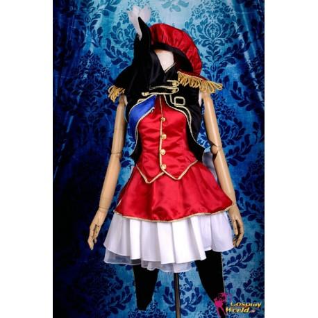 macross frontier sheryl nome cosplay kostume kleid anime manga