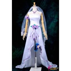 macross frontier sheryl cosplay kostume cosplay hochzeitskleid anime manga
