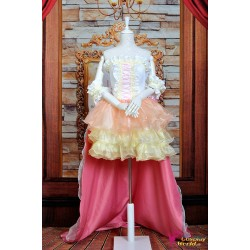 Macross Series Ranka Lee Cosplay Kostüme Cosplay Hochzeitskleid Anime Manga