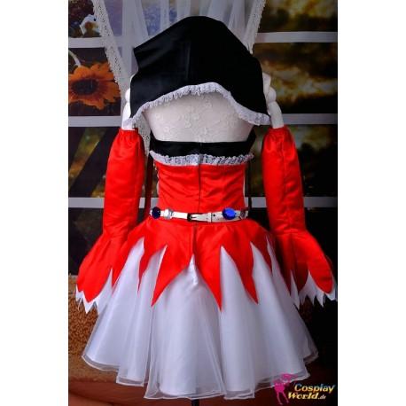 vocaloid project diva f pierreta miku rotes kleid cosplay kostume