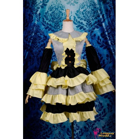 vocaloid kagamine rin lolita kleid cosplay kostume