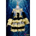 Vocaloid Kagamine Rin Lolita Dress Cosplay Costume