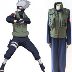 naruto hatake kakashi ninja cosplay costume anime manga