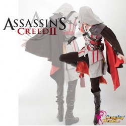 Assassin's Creed Ezio Auditore Cosplay Kostüme Set Deluxe