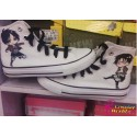 Attack on Titan Eren handbemalte Sneakers