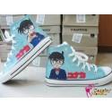 Detective Conan handbemalte Sneakers, Sneaker high