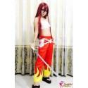 Fairy Tail Elza Rote Cosplay Kostüme Anime Manga