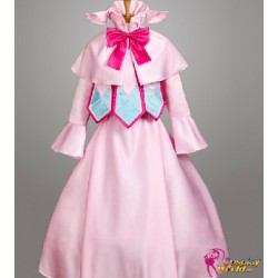 anime manga fairy tail mavis vermilion rosa kleid cosplay kostume