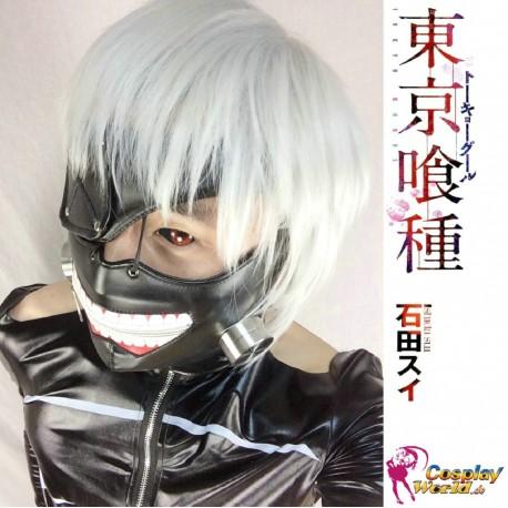 Tokyo Ghoul Kaneki Ken schwarz Cosplay Maske Anime Manga