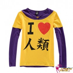 no game no life sora orange sweatshirts cosplay kostum anime manga