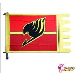 wandfahne zimmerfahne fairy tail anime flagge flag