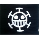 Wandfahne, Zimmerfahne, One Piece Trafalgar Law Flagge, Anime Flagge Flag