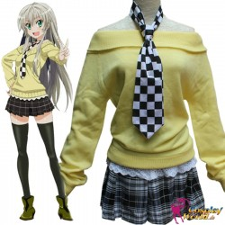 haiyore nyaruko san nyaruko crawling with love cosplay kostume set