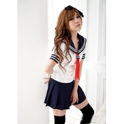 klassische japanische schuluniform sailor suit school girl uniform cosplay