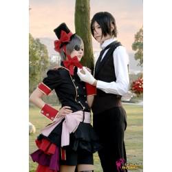black butler ciel phantomhive erdbeere cospaly kostum anime manga