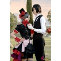 Black Butler Ciel Phantomhive Erdbeere Cospaly Kostüm Anime Manga
