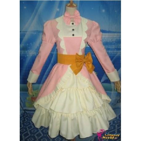 black butler elizabeth cosplay kostum rotes kleid anime manga
