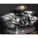 Anime Fate/Stay night Saber Figuren Motorrad wunderschöne coole Figur online kaufen