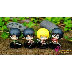 anime figuren attack on titan shingeki no kyoujinwunderschone kwaii anime figur