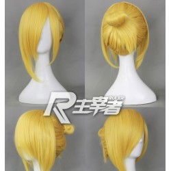 attack on titan shingeki no kyojin annie leonheart light blonde cosplay wig
