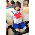 Klassische japanische Schuluniform, Sailor Suit, School Girl Uniform Cosplay