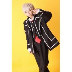 cosplay vampire knight kuran kaname day class uniform suit kostume