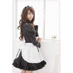 haiyore nyaruko san maid cosplay costume lolita kleid rock meido np04