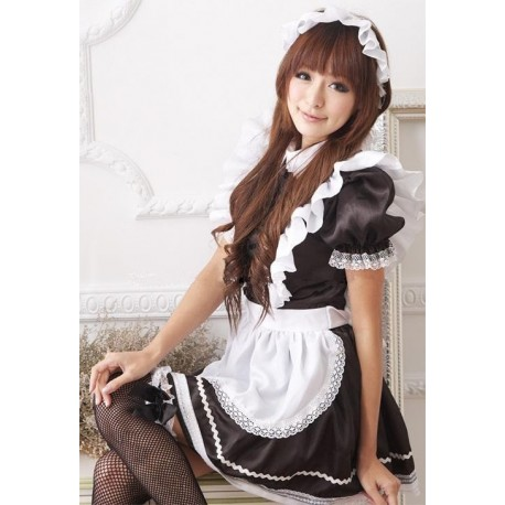 meido maid cafe costume japan kawaii cute and maid cosplay lolita dress