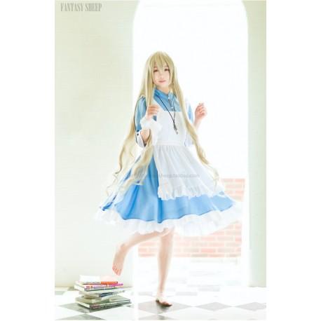 super kawaii und suss meido maid cosplay dienstmadchen kostum lolita kleid