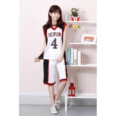 cosplay kuroko no basuke kuroko s basketball seirin jersey costumes white