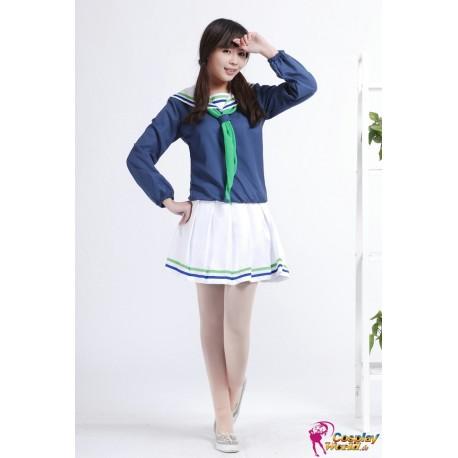 riko aida kuroko no basuke basketball cosplay seirin schuluniform trainer
