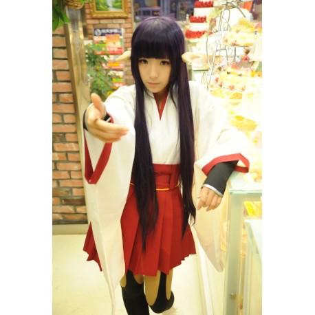 inu x boku secret service shirakiin ririchiyo cosplay kimono set 10 teilig