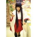 Inu x Boku Secret Service Shirakiin Ririchiyo Cosplay Kimono Set 10-teilig