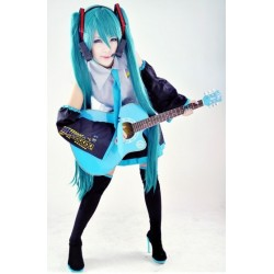 Hatsune Miku Cosplay Kleid Set Kostüme VOCALOID