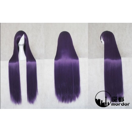 inu x boku ss ririchiyo shirakiin dark purple anime cosplay wig