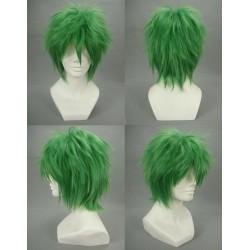 Kazuki Hihara Green Schritt grün Cosplay Perücke