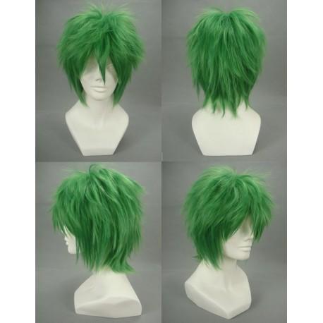 kazuki hihara green schritt grun cosplay perucke