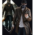 Aiden Pearce Cosplay Mantel Coat Watch Dogs
