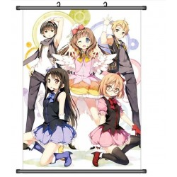 Kyōkai no Kanata Beyond the Boundary Anime Stoffposter Wallscroll Poster Wallscrolls