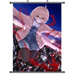Beyond the Boundary Mirai Kuriyama Anime Stoffposter Wallscroll Poster Wallscrolls