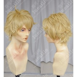 Lucaille® Beyond the Boundary Perücke Cospaly Kanbara Akihito blonde Perücke