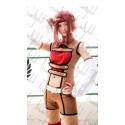 Code Geass Kallen•Stadtfeld Cosplay Kostüme Kampfkleidung auf Maß